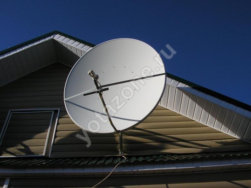 Усилитель через спутниковую антенну
